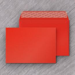 Enveloppe rouge corail