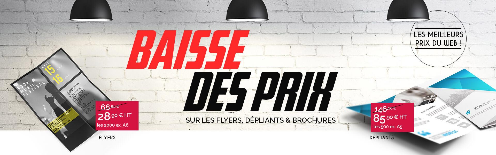 Ooprint casse les prix : Flyers, affiches..