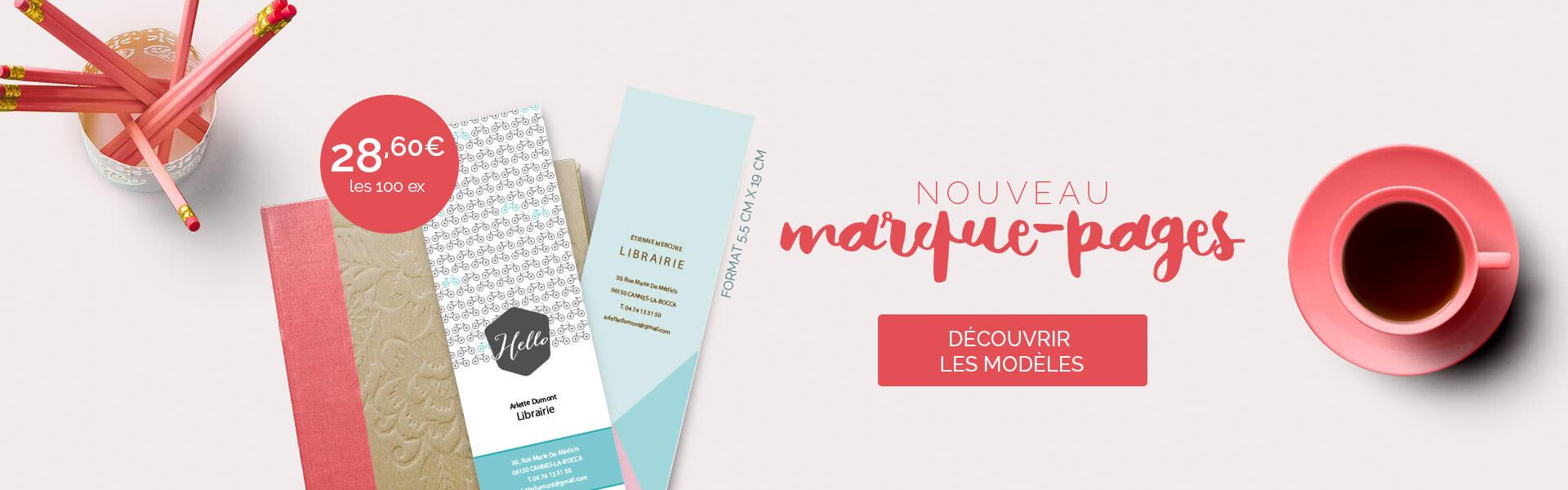 Nouveaux Marque-Pages