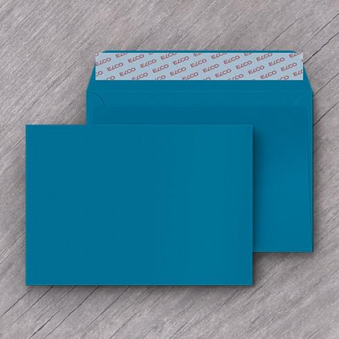 Enveloppe bleu foncé